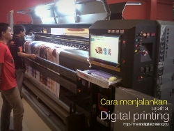 Mesin Digital Printing-usaha digital printing