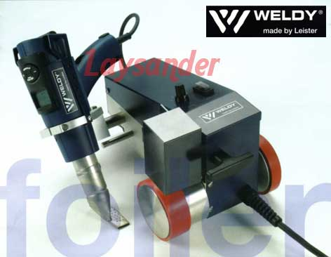 Mesin Seaming Weldy made by Leister