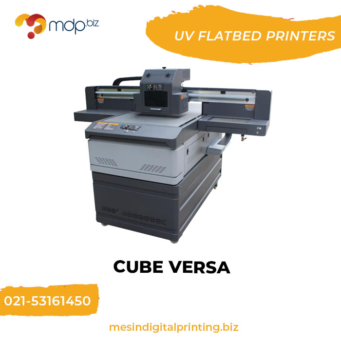 Flatbed UV Printer: Cube Versa